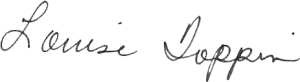 Louise signature transparent