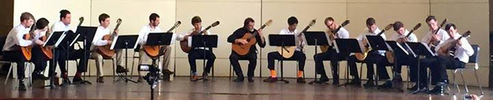 UNC Guitar Ensemble 4-12-15