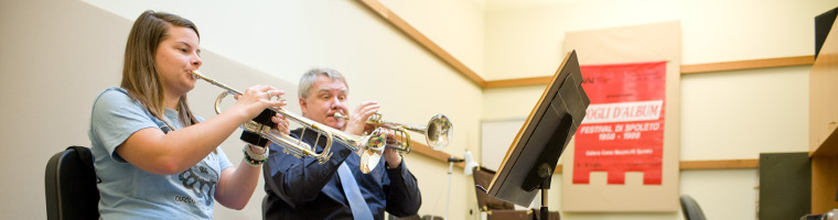 trumpet lesson