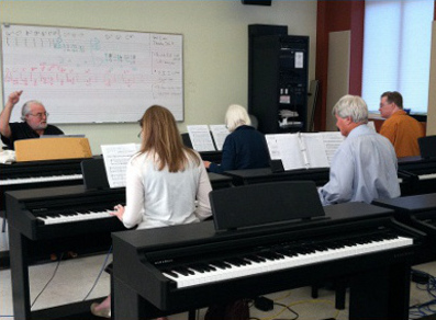 Adult Piano Class 75