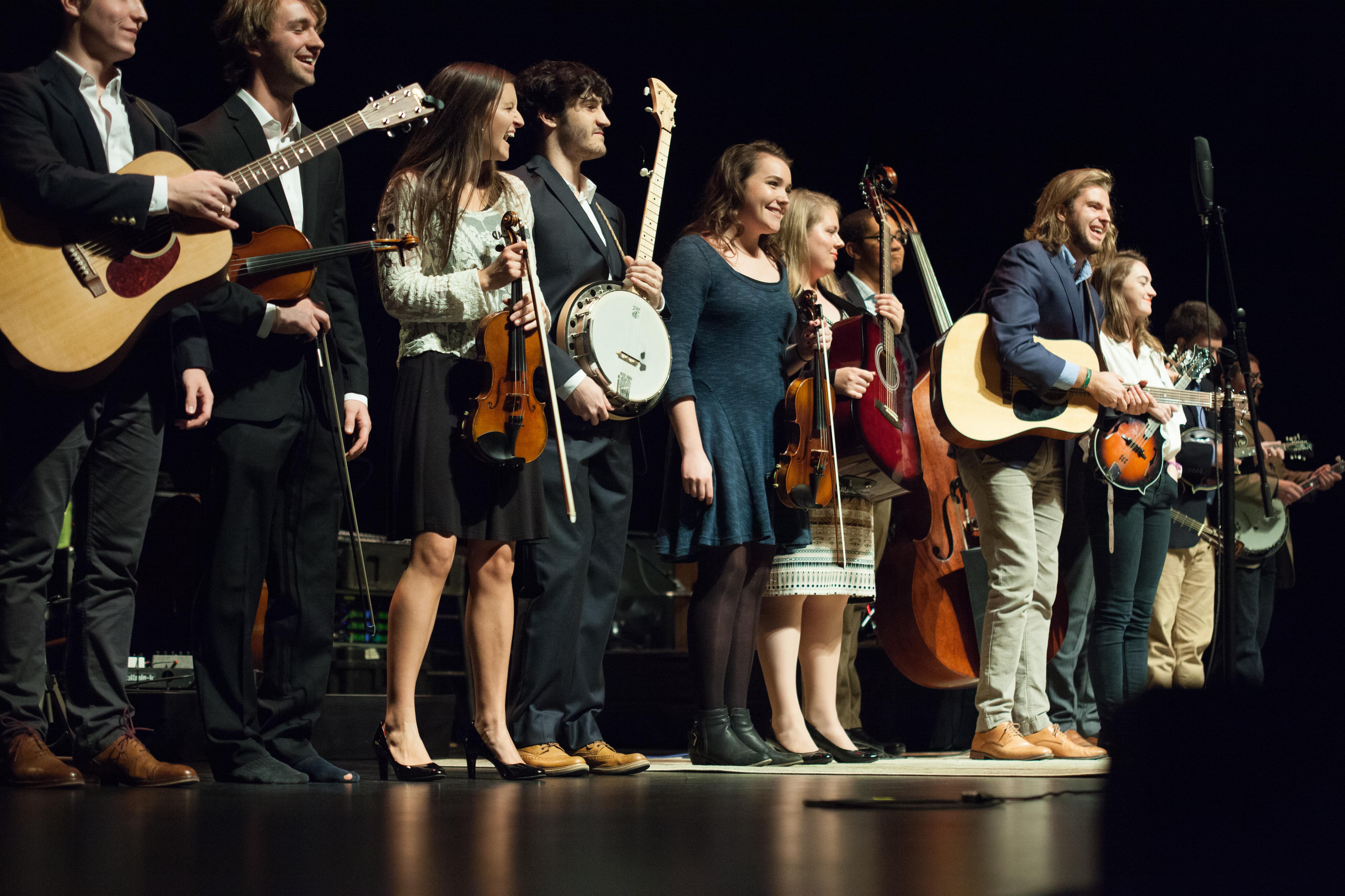 Carolina-Bluegrass-Band-at-Memorial-Hall