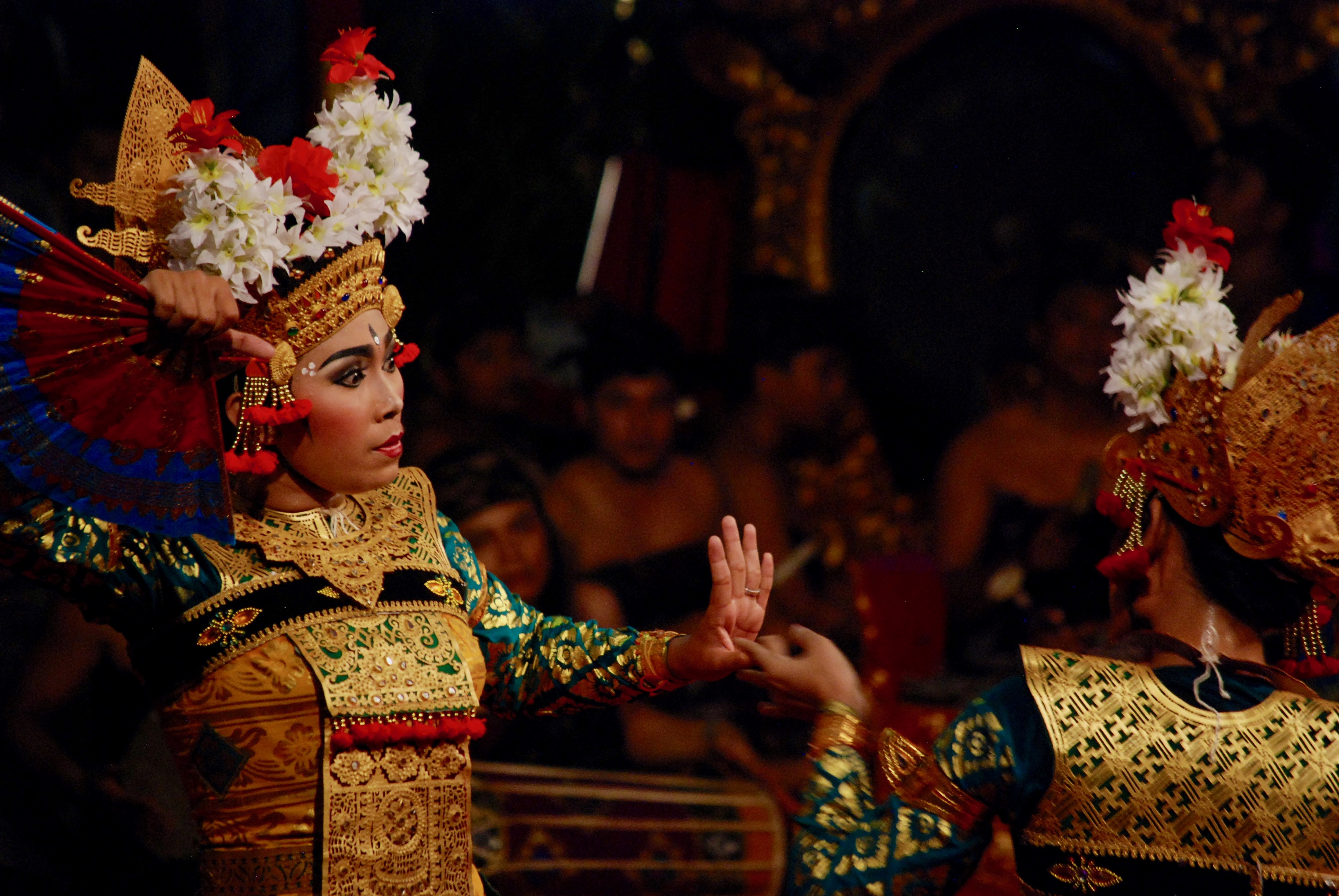Image of Legong Perfomance in Indonesia