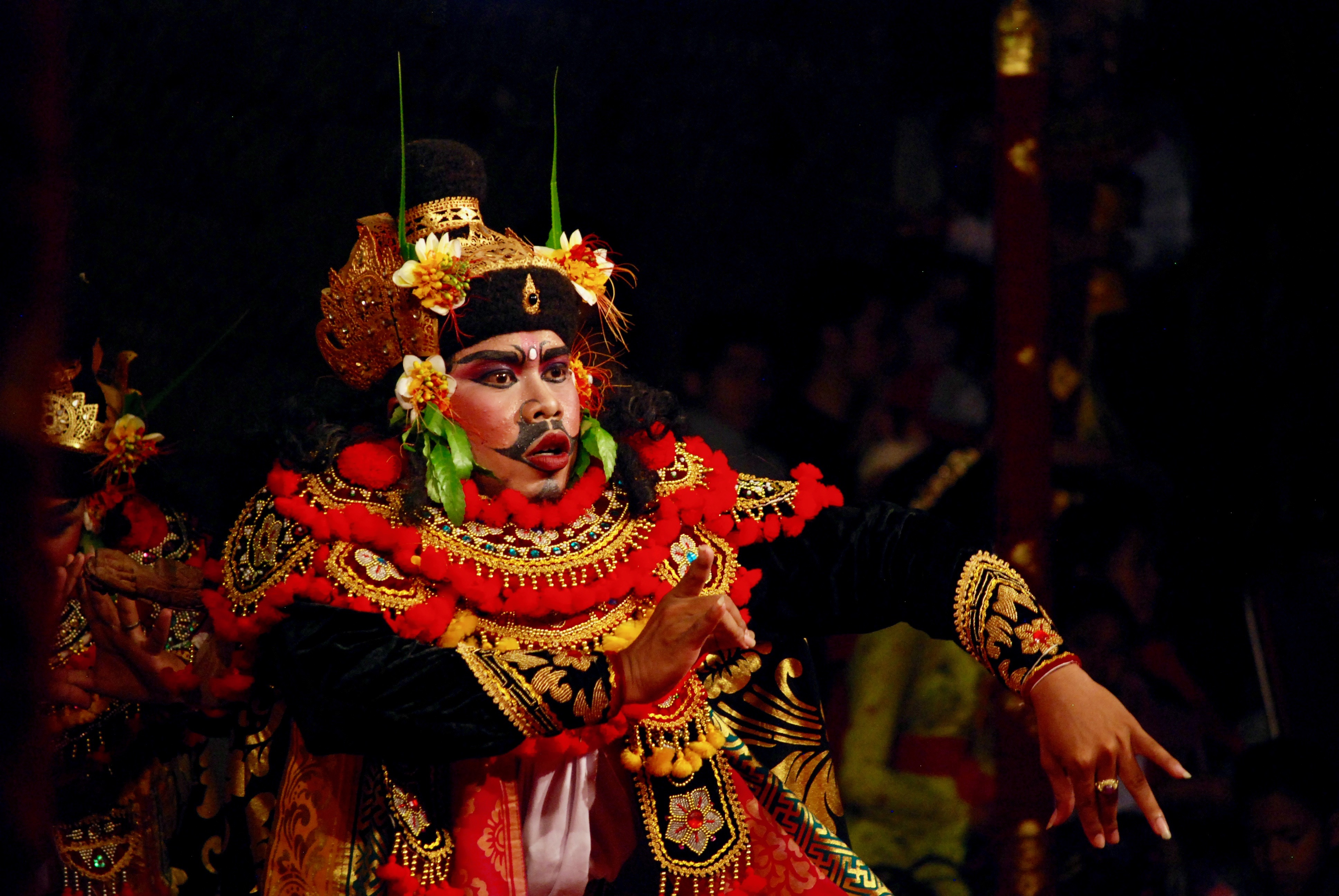 Legong Perfomance in Indonesia
