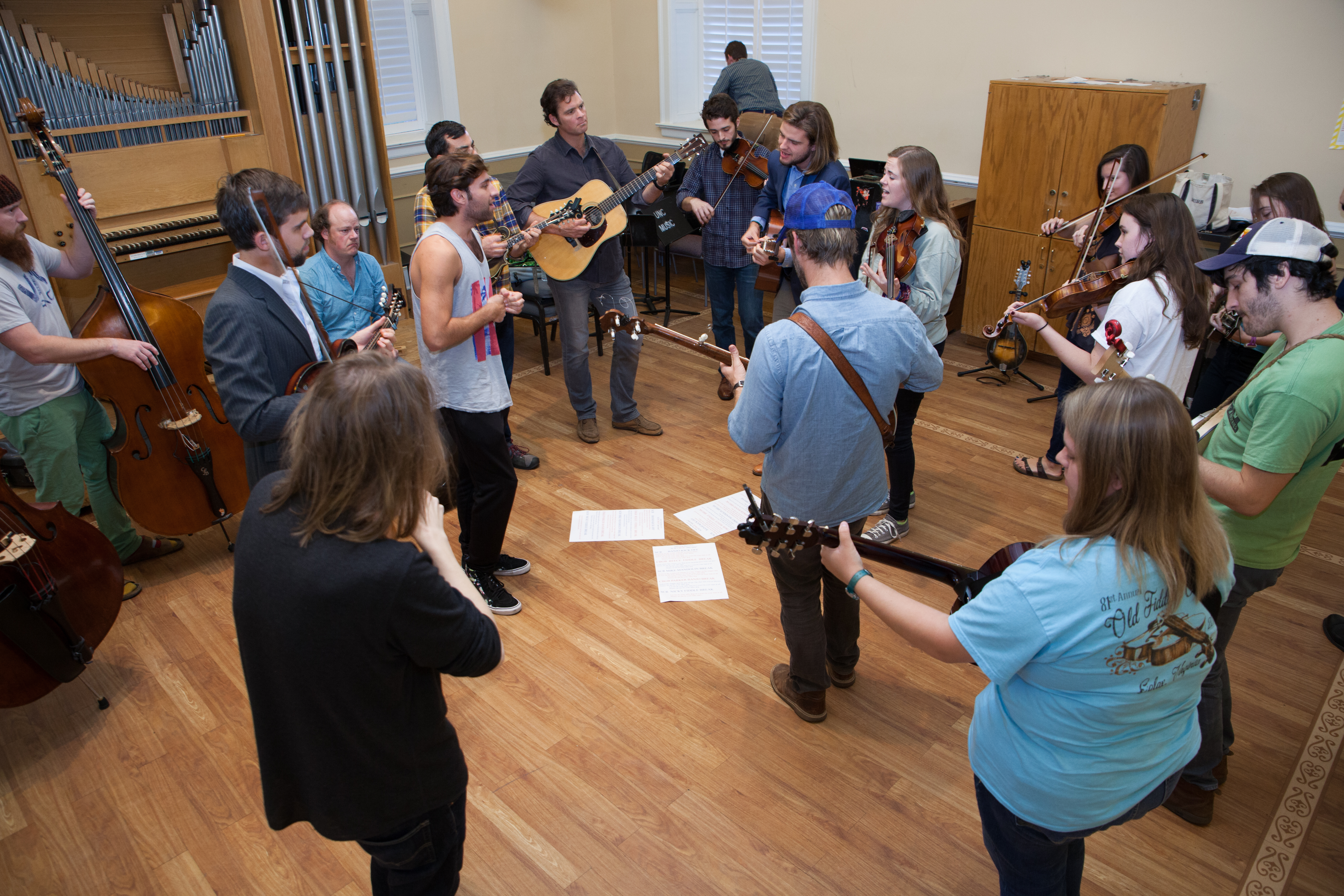 Workshop with Steep Canyon Rangers