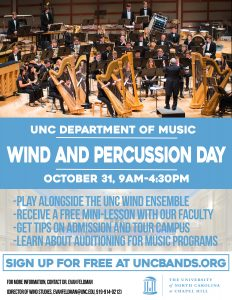 Wind and Percussion Day 2017