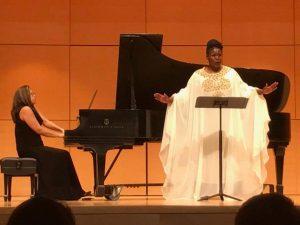 LaToya Lain in Recital