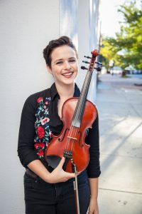 Tatiana Hargreaves, fiddle