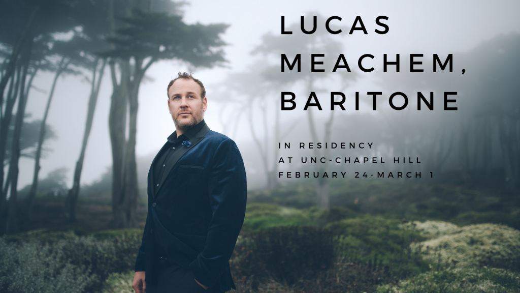 "Poster Image, title is: ""Lucas Meachem, Baritone"""