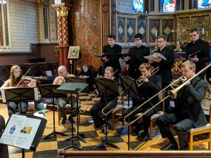 UNC Sackbut Ensemble with KCL Choir