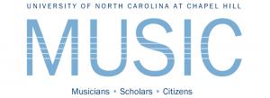 "Logo image, text is: ""University of North Carolina at Chapel Hill Music"""