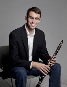 Matthew Svec, clarinet
