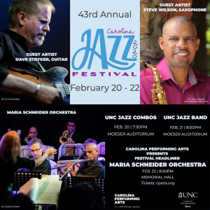 Carolina Jazz Festival Poster
