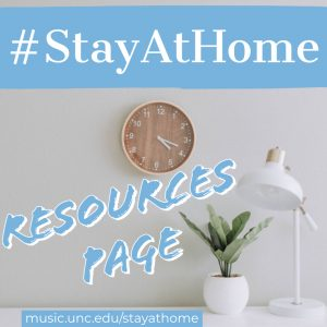 #StayAtHome Resources Page