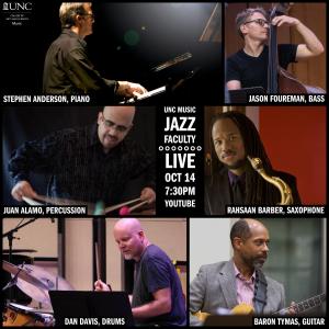 Collage, from top left clockwise: Stephen Anderson, Jason Foureman, Rahsaan Barber, Baron Tymas, Dan Davis, and Juan Álamo