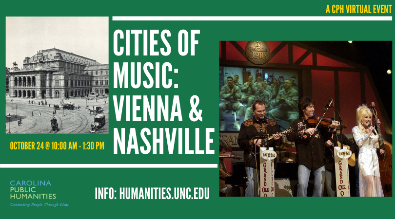 Cities of Music: Vienna and Nashville poster
