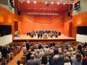 The European premiere of Anderson's oratorio, Isaiah, at the Musiquem Lleida