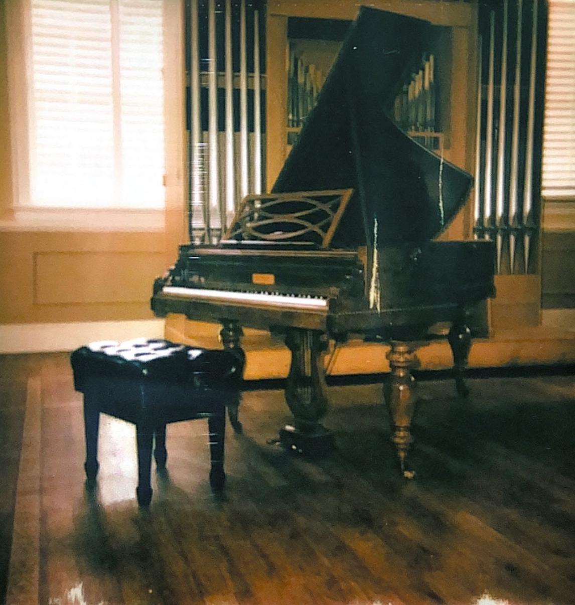 Pleyel piano in Person Recital Hall